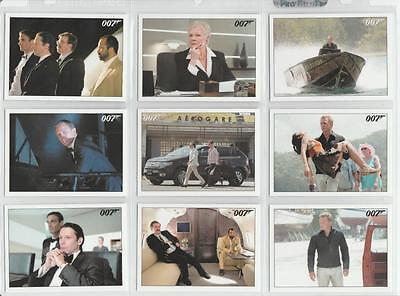 James Bond Archives 2015 Trading Card Set