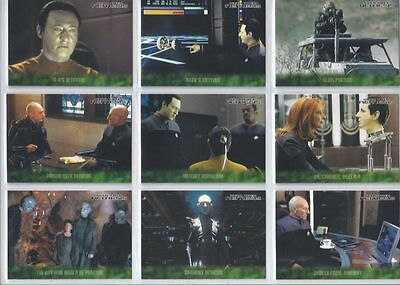 Star Trek Nemesis Movie Trading Card Set