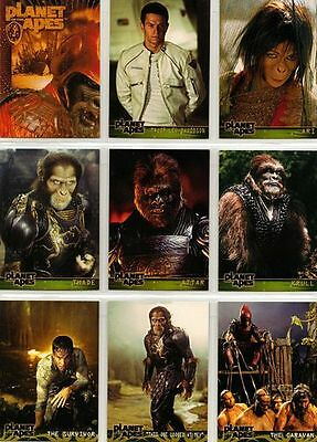 Planet Of The Apes Movie Trading Card Set