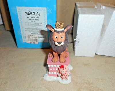 Enesco Rudolph &The Island of Misfit Toy A Ty is Never Truly Happy s16