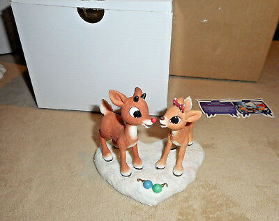 Enesco Rudolph &The Island of Misfit Toy Dreams Come True Together 1999 s18