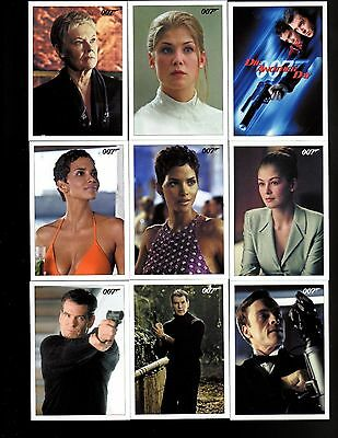 James Bond Archives Final Edition 2017 Die Another Day Trading Card Set