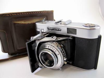 Voigtlander Vito IIa with Case