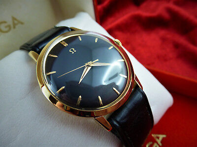 Omega 14K Gold Automatik, Herrenuhr in 585 Massivgold