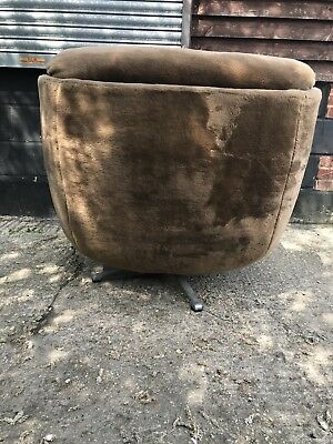vintage retro swivel chair