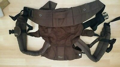 LILLEbaby Complete Organic Chocolate Brown Baby Carrier