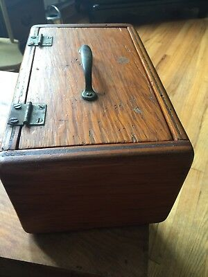 Old Wood Box vintage antique tool keepsake