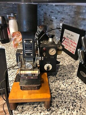 Kingsley Vintage  Hot Foil Stamping Machine AM-60-A Plus Lots Extras  Letters