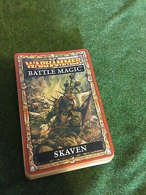 Skaven Magic Cards Warhammer Fantasy
