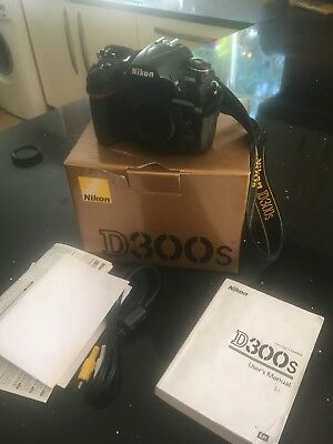 Nikon d300s Camera Body in original box