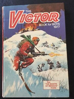 Victor Book For Boys 1977