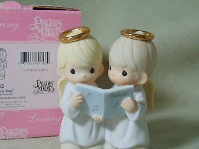"""VNT RARE NEW IOP 2006 Precious Moments Mini Nativity Add. """"And the Angels Sing"""""""