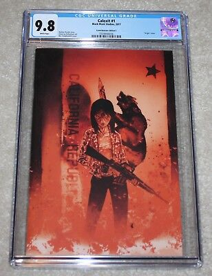 Calexit 1 Cgc 9.8 Ben Templesmith Red Virgin Comicxposure Variant 50 Print Run