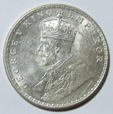 India, Rupee, 1919(c), AU-Uncirculated, .3438 Ounce Silver, #4