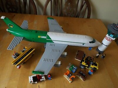 Lego City Set 60022 Cargo Plane Terminal Set Incomplete Without