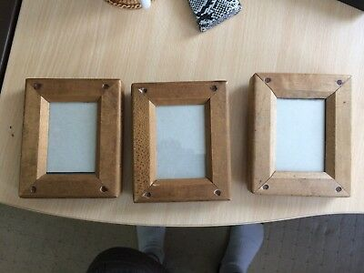 3 Vintage 2½in x 3½in contact print exposure frame