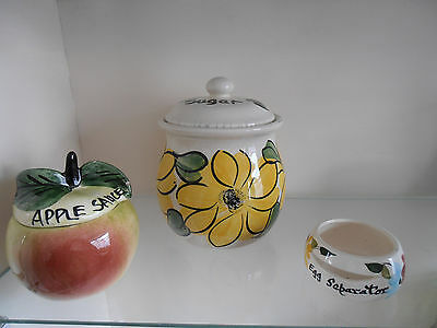3 Items of Toni Raymond or Toni Raymond Style Pottery.