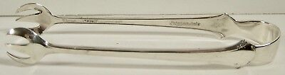 Vintage Towle Sterling Silver Chippendale Sugar Tongs No Monogram