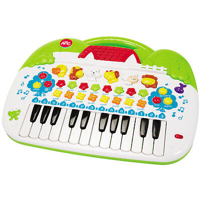 Kinder ABC Keyboard Klavier Piano Musik Spielzeug Musikinstrument Tier Sound