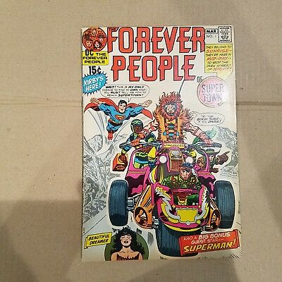 Forever People 1 F/VF   HUGE DC SILVER AGE COLLECTION No Reserve