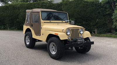 Kaiser Jeep CJ5 BJ.1970 original Dauntless V6 Oldtimer US