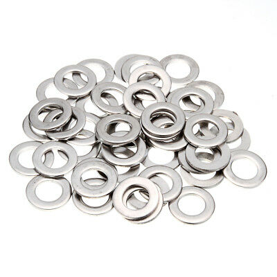 100x Stainless Steel Metric Flat Washers Tool M1.6/M3/M4/M5/M6/M8/M10