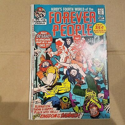 Forever People 4 Fine  HUGE DC SILVER AGE COLLECTION No Reserve