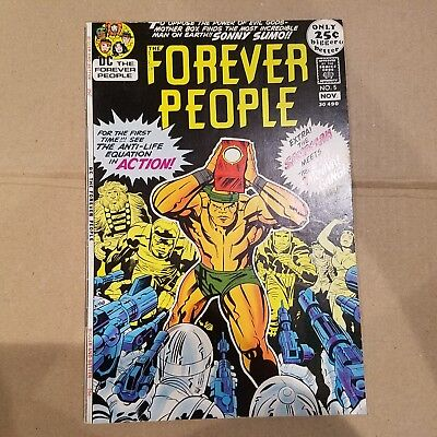 Forever People 5 F/VF  HUGE DC SILVER AGE COLLECTION No Reserve