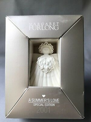 "Margaret Furlong 2001 ""A Summer's Love"" Special Edition 4"" angel ornament"