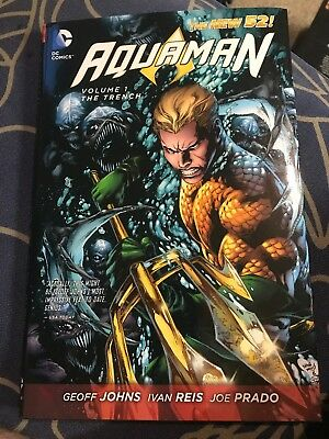 Aquaman Vol 1 The Trench hardcover dc comics the new 52