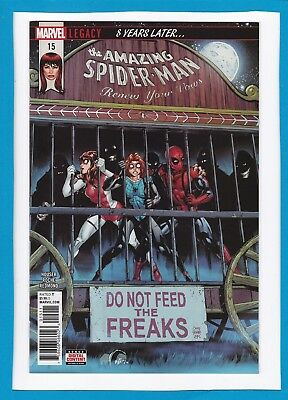 Amazing Spider-Man:renew Your Vows #15_March 2018_Near Mint_Marvel Legacy!