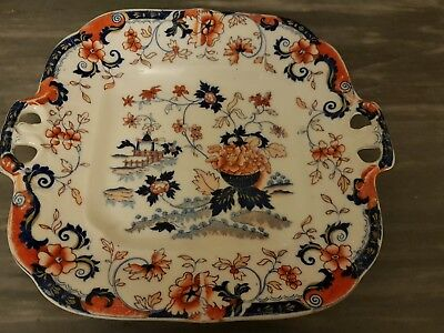 early antique Amhurst serving plate