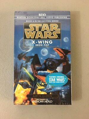 New & Sealed! Star Wars X-Wing Iron Fist Cassette Audiobook! Book #6 In Series