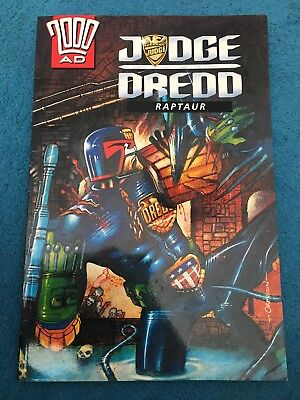 Judge Dredd Raptaur graphic novel