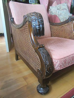 3 Piece Carved Bergere Suite