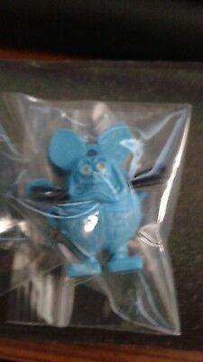 """Rat Fink w/whiskers 1 3/8"""" Blue ( no ring)"""