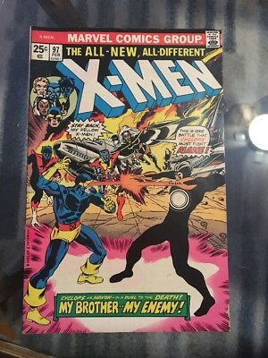 Uncanny X-Men 97 1st Appearance Lilandra Bronze Age Lot - Auction