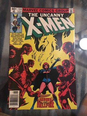Uncanny X-Men 134 Dark Phoenix Saga Bronze Age Lot - Auction