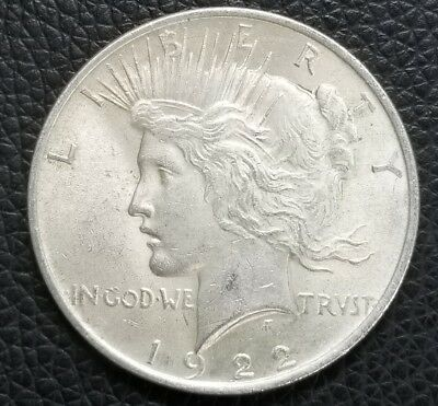 1922 US Silver Peace Dollar **XF Condition** - US Coins [SC160]