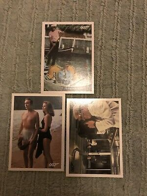 James Bond 3 Throwback Chase Cards Rittenhouse Cards