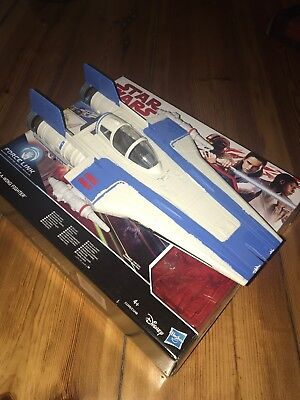 Resistance A-Wing Fighter, Star Wars Hasbro, The Last Jedi