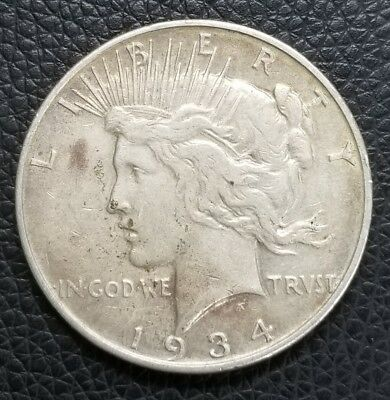 1934-D US Silver Peace Dollar - US Coins [SC168]