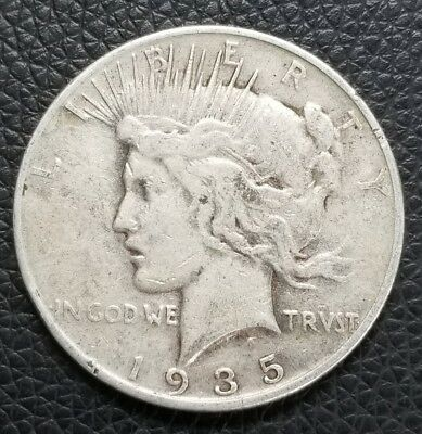 1935-S US Silver Peace Dollar - US Coins [SC170]