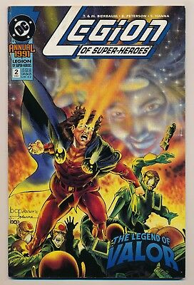 Legion of Super-Heroes (1989) Annual #2 VF--LOW PRICE