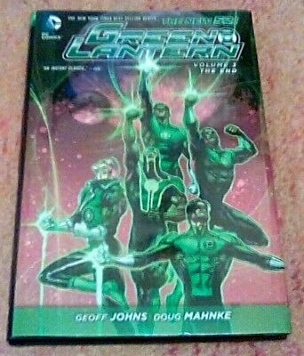 Green Lantern Vol.3 The End HC - Geoff Johns Finale - DC New 52 Hardcover 2014