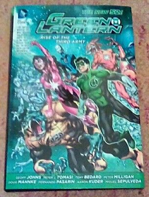 Green Lantern Rise of the Third Army HC - Geoff Johns - DC New 52 Hardcover 2013