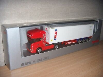 Herpa Scania R TL 40ft. High Cube Reefer Container-SZ *EUROGATE / TAL*
