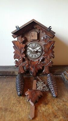 Vintage German Black Forest Cuckoo Clock 30 Hour