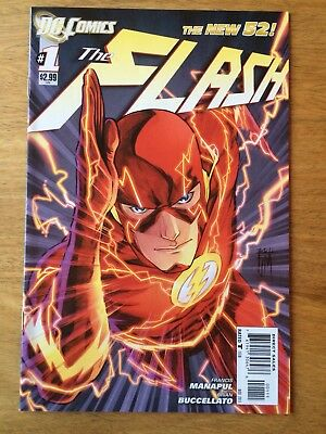 Flash New 52 #1 Comic - Francis Manapul - Barry Allen NM First Print