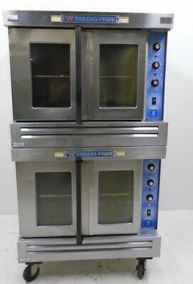 Bakers Pride Cyclone convection oven, full size double stack, GDCO, Natural gas